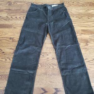 Mens Gap Brown Corduroy Worker Jeans